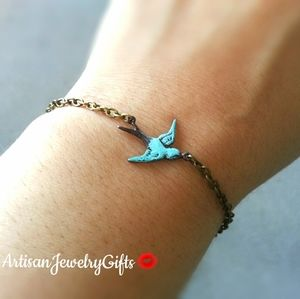 Patina Sparrow Bracelet Soaring Sparrow Bracelet